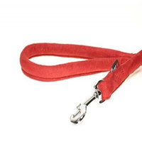 Dogline M8065-3 6 ft. L x 0. 33 W inch Comfort Microfiber Round Leash, Red