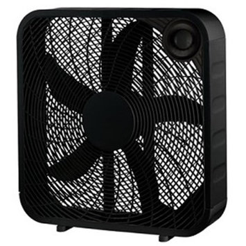 Midea International Trading Midea International 218061 20 in. WP Black Box Fan