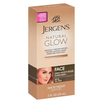 JERGENS® Natural Glow Healthy Complexion Daily Facial Moisturizer SPF 20 Fair to Medium