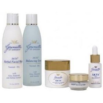 AKTA Skin Care Kit - Normal/Dry (5 products)