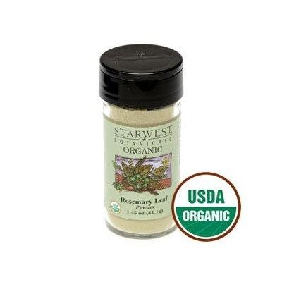Starwest Botanicals Organic Rosemary Leaf Powder Jar