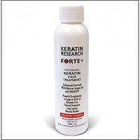 Keratin Forte Keratin Brazilian Keratin Hair Blowout Treatment Extra Strength 120ml Enhanced Formula for Curly Hair By Keratin Research Queratina Keratina Brasilera Tratamiento Forte
