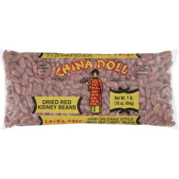 China Doll: Red Kidney New Orleans Style Dried Beans, 16 Oz