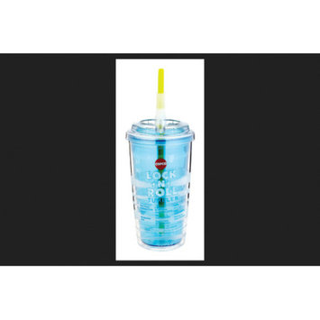 LIFETIME BRANDS 2510-0119 16OZ Blue Lock Tumbler