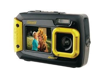 Coleman Duo 2V9WP Dual Screen Shock & Waterproof Digital Camera (Yellow)