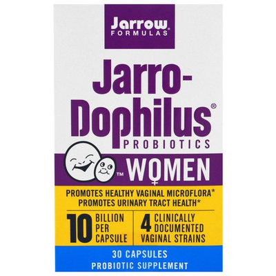 Jarrow Formulas, Jarro-Dophilus Probiotics, 10 Billion, For Women, 30 Capsules [Package Quantity : 30 Capsules]