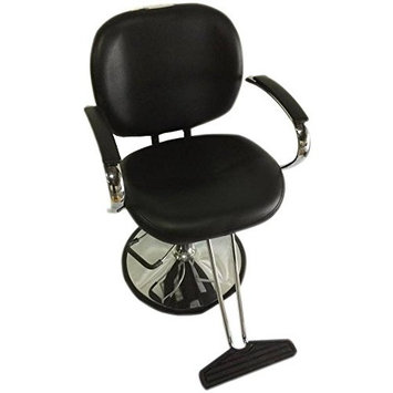 Sleek Modern Hydraulic Barber Chair Styling Salon Beauty - ds-sc7001-black