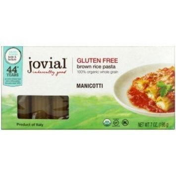 Jovial, Organic Brown Rice Pasta, Manicotti, 7 oz (198 g)(Pack of 2)