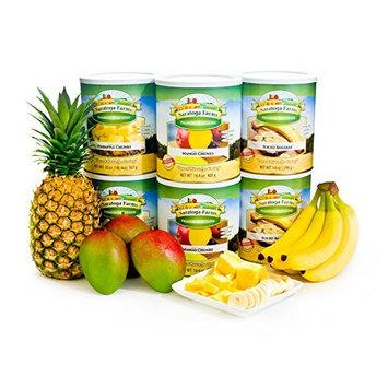 Saratoga Farms Freeze Dried Tropical Fruits Pack