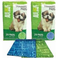 Greenbone Animal Planet Pet Training Pads 20/Pkg-Assorted Green Or Blue