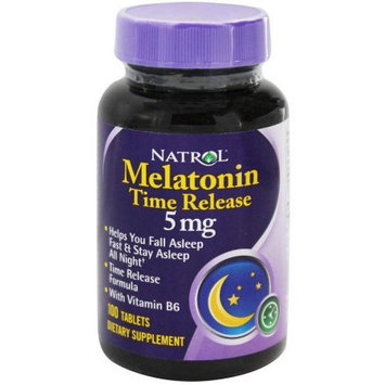Natrol Melatonin Tr 5Mg, 100TB
