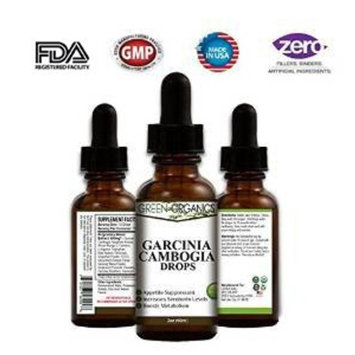 Garcinia Cambogia Drops - Fast Absorbing Liquid - 100% Natural Weight Loss Supplement