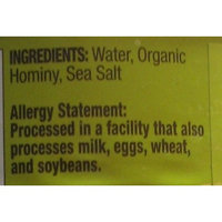 Organic Hominy by Natural Value, 30 ounce can