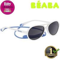 Beaba® Little Pilot Sunglasses Kids Children Girls Boys Style Classic Designer Strap and Case 1 Year Guarantee