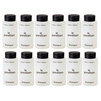 LOT: 12 le Grand Bain Citron + Vetiver Travel Size Shampoo Bottles - 1 oz (30mL)