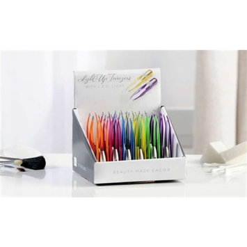 Light up tweezers - Assorted colors sold separately - One per purchase