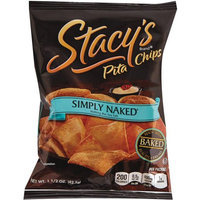 Frito-lay Inc. Stacy's Pita Chips, 1.5 oz Bag, Original, 24/Carton