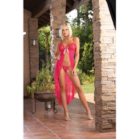Lace Gown With G-string