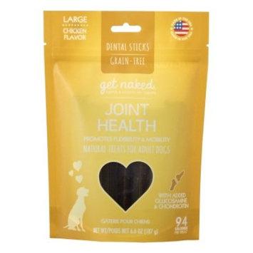 Get Naked Joint Health Grain Free Dental Chew Sticks, Large 6.6oz