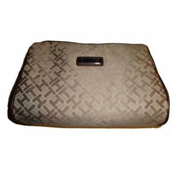 Tommy Hilfiger Women's Cosmetic/Make-up/Toiletry Bag, Beige Alpaca