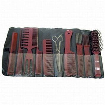 Aristocrat 9 Piece Brush & Comb Assortment