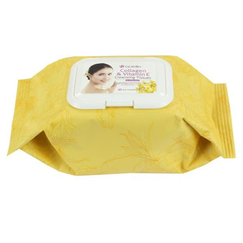 Epielle Collagen Facial Cleansing Tissues, 60ct