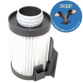 HQRP Washable Filter fits Eureka Optima Pet Lover Oh! - 439AZ Lightweight Vacuums + HQRP Coaster
