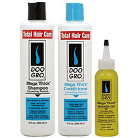 Doo Gro Mega Thick Shampoo + Conditioner + Growth Oil