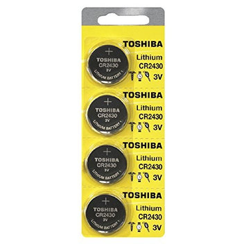Toshiba CR2430 3 Volt Lithium Coin Battery 20 Cells