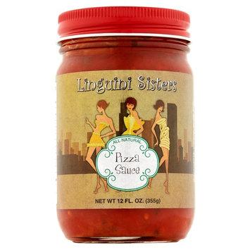 Linguini Sisters All Natural Pizza Sauce, 12 fl oz, 6 pack