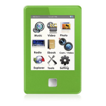 XO Vision Ematic 4GB Video Player Green