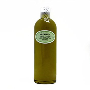 Dr. Adorable - 100% Pure Avocado Oil Organic Cold Pressed Unrefined Extra Virgin Natural Hair Skin - 16 oz