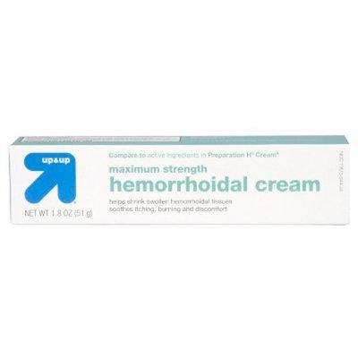 Hemorrhoidal Maximum Strength Cream - 1.8 oz - up & up™