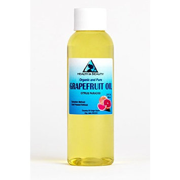 Grapefruit Seed Oil Refined Organic Carrier Cold Pressed Natural Fresh 100% Pure 2 oz
