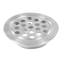 Stainless Steel 23mm Dia Buttom Tub Shower Kitchen Sink Strainers Air Vent
