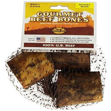Venison Joe's Small Hickory Smoked Beef Bone, 3-Pack