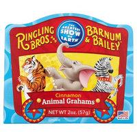 Primary Colors Ringling Bros and Barnum & Bailey Cinnamon Animal Grahams, 2 oz