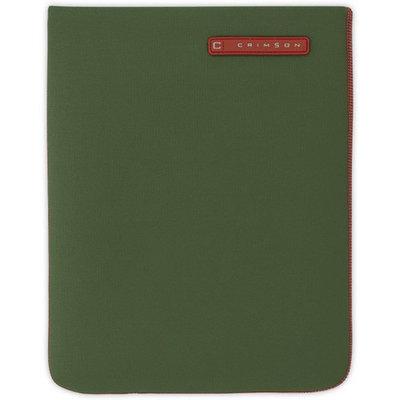CRIMSON Green Neoprene Sleeve for iPad 2, 3, 4 CRIMSON Green Neoprene Sleeve for iPad 2, 3, 4