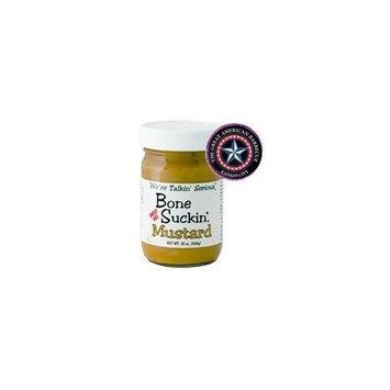 Bone Suckin' Sweet Hot Mustard 12oz (Pack of 3)