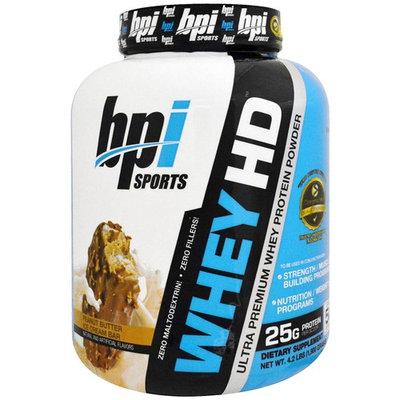 BPI Sports, Ultra Premium Whey Protein Powder, Peanut Butter Ice Cream Bar, 4.2 lbs (1,900 g) [Flavor : Peanut Butter Ice Cream Bar]