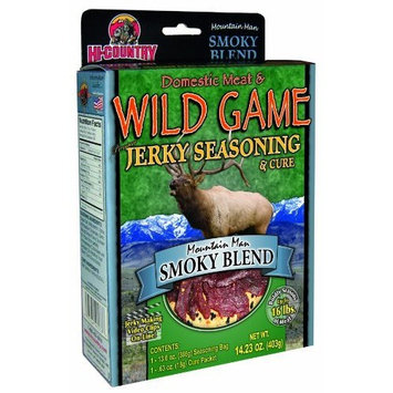 Hi-Country Snack Foods Domestic Meat and WILD GAME 14.23 oz. Smoky Blend Home Jerky Spice Kit