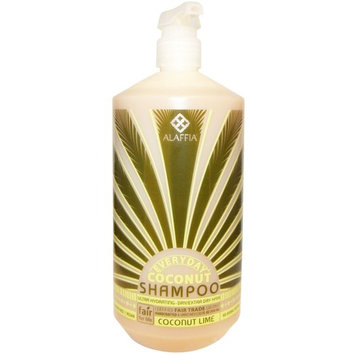 Everyday Coconut, Shampoo, Ultra Hydrating, Normal to Dry Hair, Coconut Lime, 32 fl oz (950 ml) [Scent : Coconut Lime]