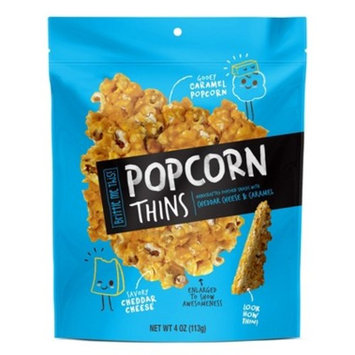 Popcorn Thins Cheddar Cheese & Caramel - 4oz