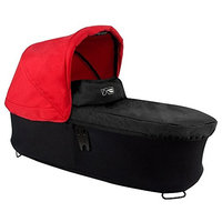Mountain Buggy Carrycot Plus for Duet Double Stroller with Sun Hood, Black