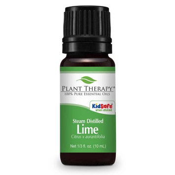 Plant Therapy Lime Steam Distilled Essential Oil 10 mL (1/3 fl. oz.) 100% Pure, Undiluted, Therapeutic Grade
