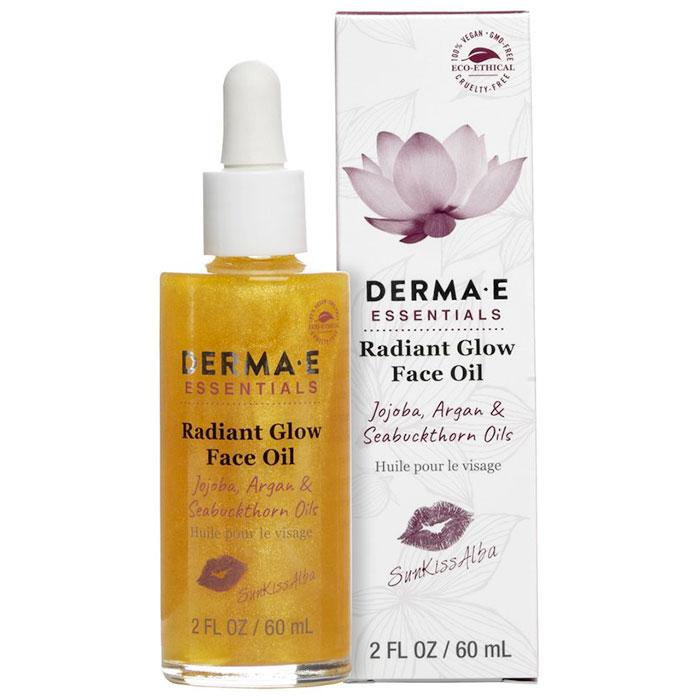 Derma E Radiant Glow Face Oil by SunKissAlba, 2 oz