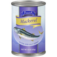 Pampa Mackerel in Brine, 15 oz Can