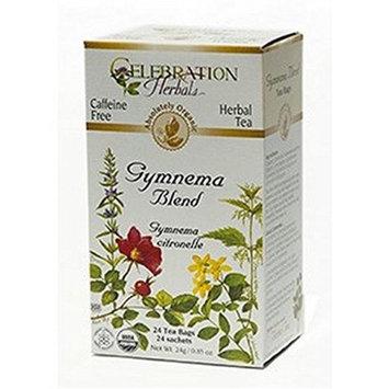 Celebration Herbals 275435 Gymnema Blend Tea Organic 24 Bag - Case of 12