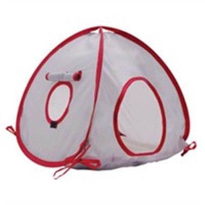 Hagen Living World Tent Size: Medium, Color: Grey / Red