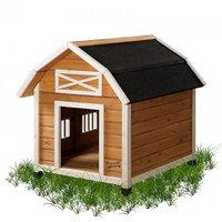Pet Squeak Barn Dog House Large